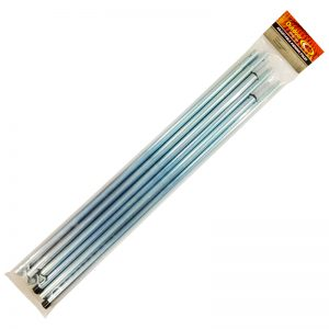 adjustable awning pole 2m twin pack