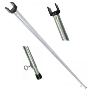 extension poles with square clip