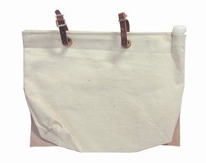 Supex Leather Backed and Leather Strap Water Bag WB0203