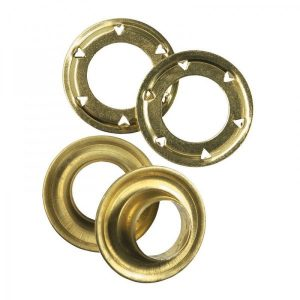 eyelets and washers