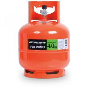 gas cylinder 4kg orange
