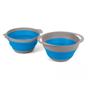 popup bowl and colander set