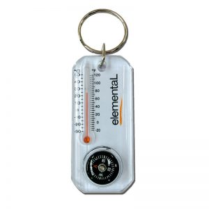 compact thermometer compass
