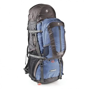 companion E100 backpack 85L+15L daypack blue 02