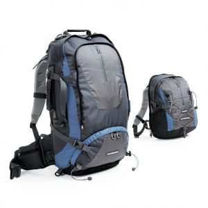 companion T75 travel pack +15L daypack