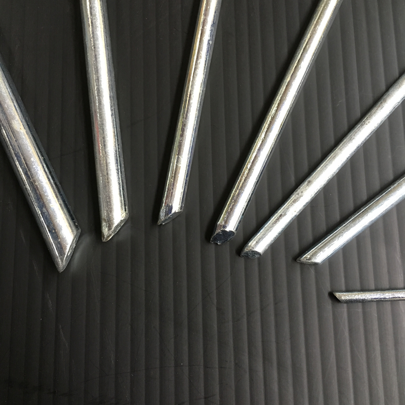 Heavy Duty Steel Pegs u2013 Chiseled Tent Pegs 10pc & Heavy Duty Steel Pegs u2013 Chiseled Tent Pegs 10pc u2013 Budget Camping