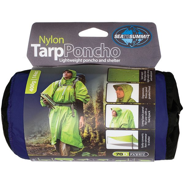 5da4d92e7627 Sea To Summit Nylon Waterproof Tarp-Poncho