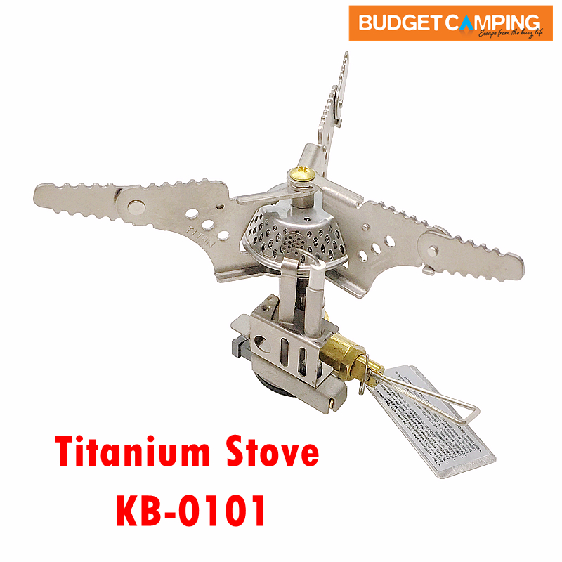 Kovea Titanium Hiking Stove with Piezo Ignition