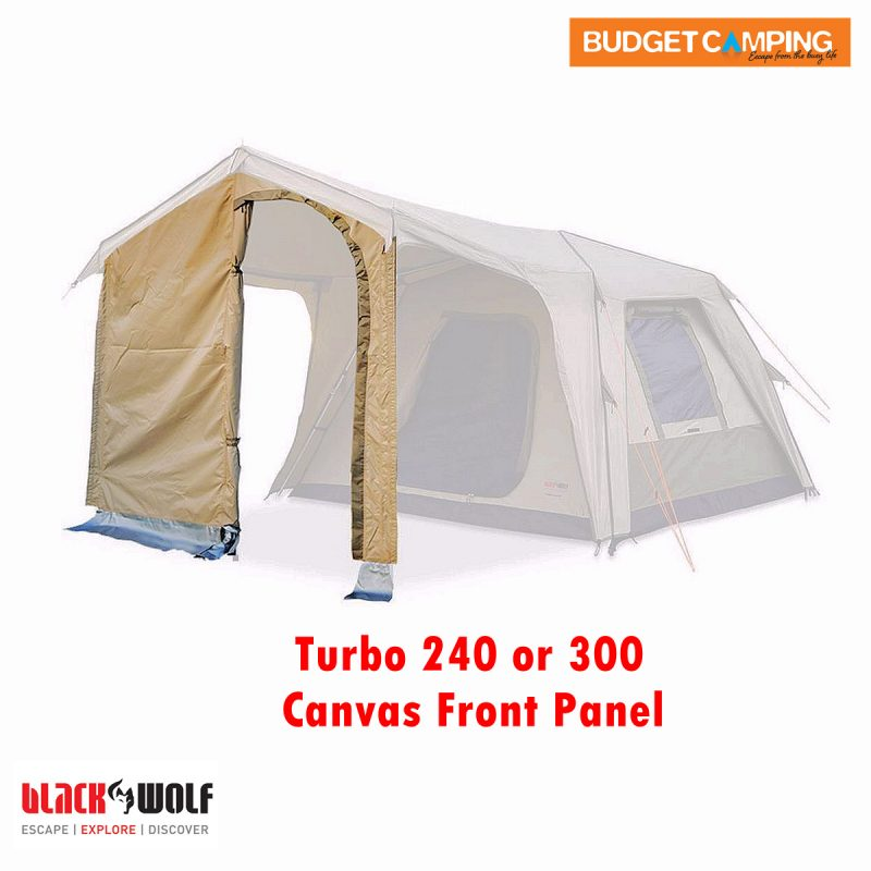 Blackwolf Turbo Tent Front Panel Canvas 240 300  sc 1 st  Budget C&ing & Blackwolf Turbo Tent Front Panel Canvas 240 300 u2013 Budget Camping