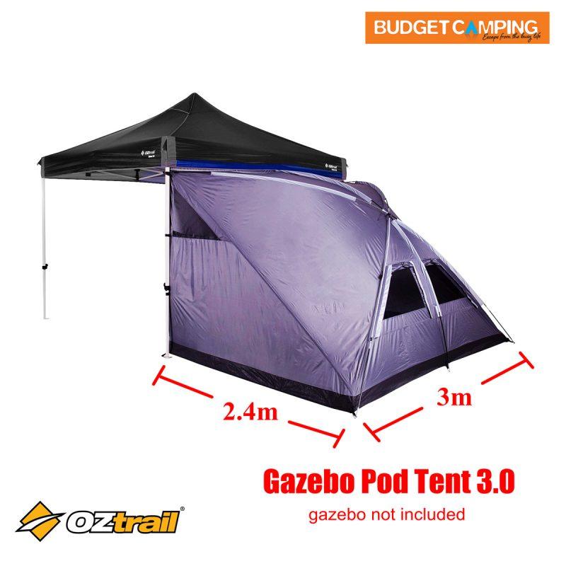 Oztrail Gazebo Pod Tent 3.0  sc 1 st  Budget C&ing & Oztrail Gazebo Pod Tent 3.0 u2013 Budget Camping